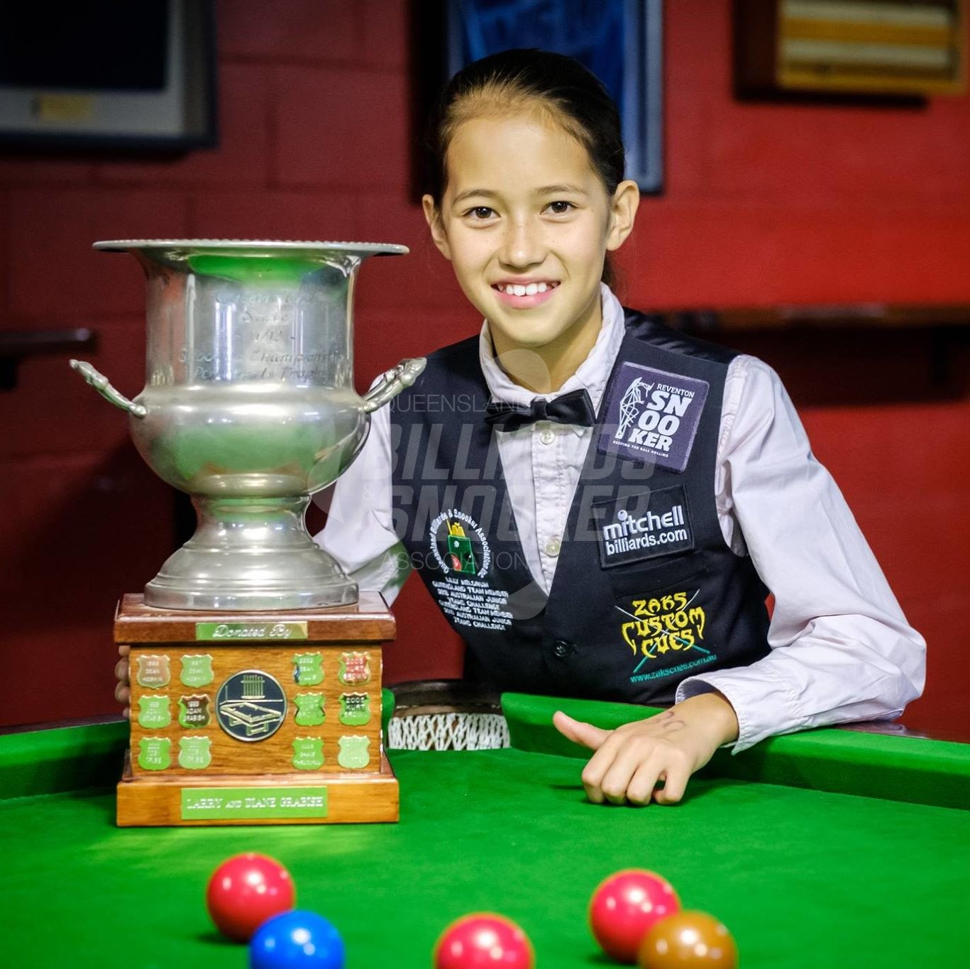 lilly medrum winner snooker