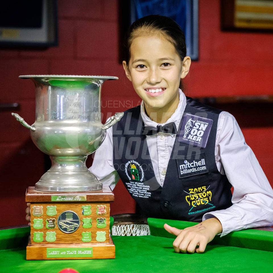 lilly medrum champion snooker