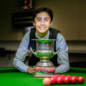 xavier daw winner snooker