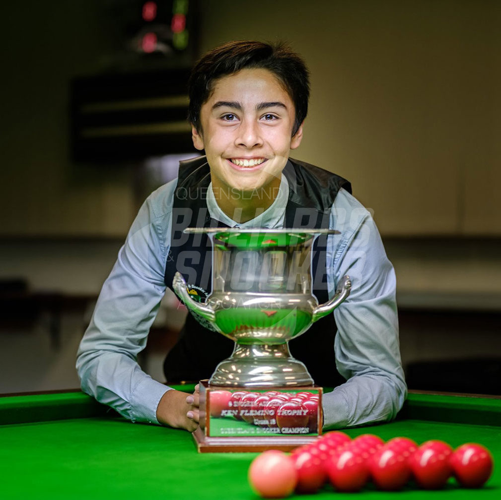 xavier daw winner snooker